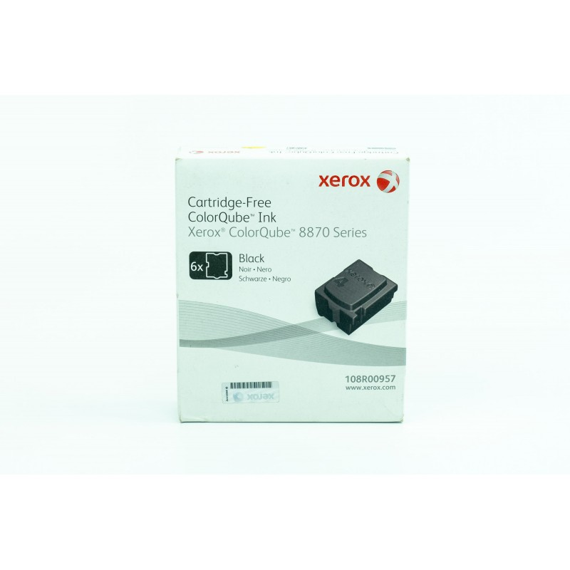 Xerox ColorQube 8870 6 black ColorStix